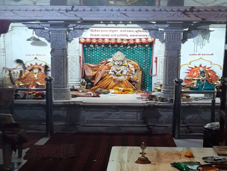 हरसिद्धी माता मंदिर में अभिजीत मुहूर्त में होगी घटस्थापना।