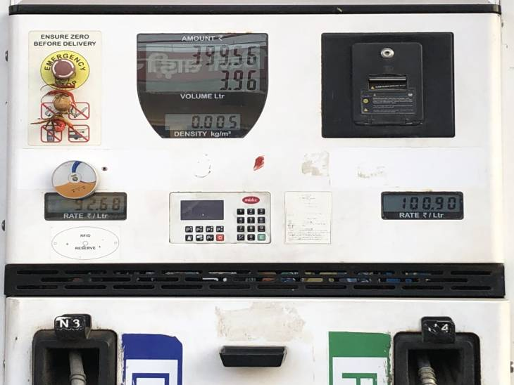 पीएम और सीएम के क्षेत्र में ही बिक रहा प्रदेश का सबसे महंगा पेट्रोल, वाराणसी में 100.90 रुपए और गोरखपुर में 100.41 रुपए प्रति लीटर वाराणसी,Varanasi - Dainik Bhaskar