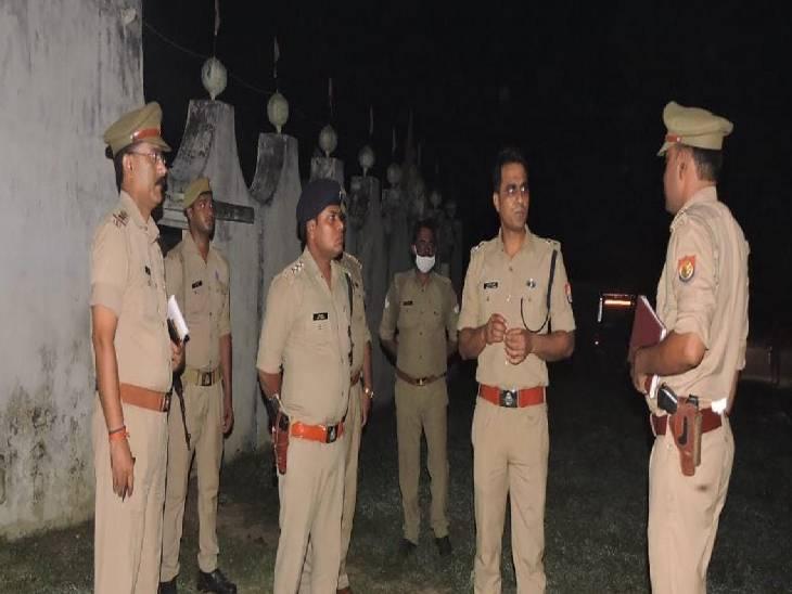 जमीनी विवाद में 6 लोगों ने की पिटाई, 2013 में चलाई गई थी मृतक के पिता पर गोली भदोही,Bhadohi - Dainik Bhaskar