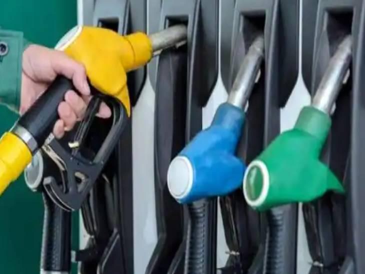 सादा पेट्रोल लखनऊ में 100.01रुपया हुआ, डीजल की कीमत भी 91.85 रुपए तक पहुंचा , माल भाड़ा भी बढ़ा|लखनऊ,Lucknow - Dainik Bhaskar