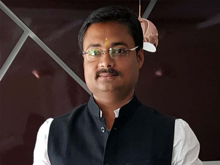 तारापुर से चिराग के पार्टी के उम्मीदवार चंदन सिंह। (फाइल)