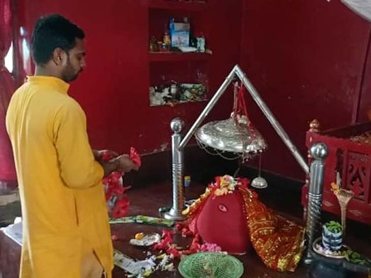 मान्यता है कि चंड-मुंडका वध करने के लिए मां ने लिया था अवतार, जमीन से 40 फीट ऊपर है मंदिर, देखें VIDEO|बिहार,Bihar - Dainik Bhaskar