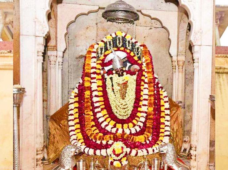 जयपुर के राजा से रूठ गई थीं आमेर की शिला माता।