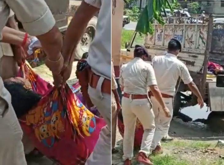 रात में पुलिस ने छापेमारी की, 6 लाख रुपए के साथ पिता को थाने ले गई; ग्रामीणों का आरोप- पुलिस ने बहुत टॉर्चर किया|बिहार,Bihar - Dainik Bhaskar