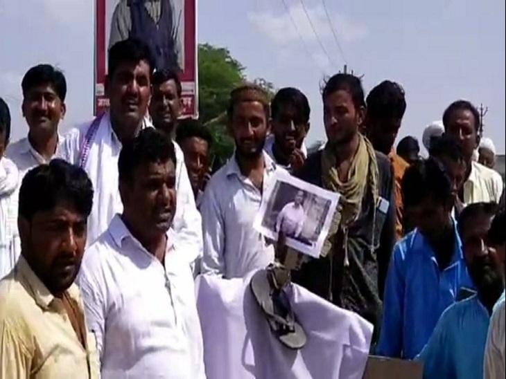 कांग्रेसी कार्यकर्ता डीएम आशीष मोदी की कार्यशैली से नाराज; ज्ञापन के दौरान हुए विवाद ने पकड़ा तूल|जैसलमेर,Jaisalmer - Dainik Bhaskar