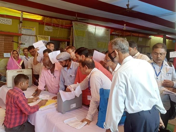 चौथे चरण के प्रत्याशियों को चुनाव चिन्ह आवंटित, पांचवें चरण के नामांकन की तिथि समाप्त|बिहार,Bihar - Dainik Bhaskar