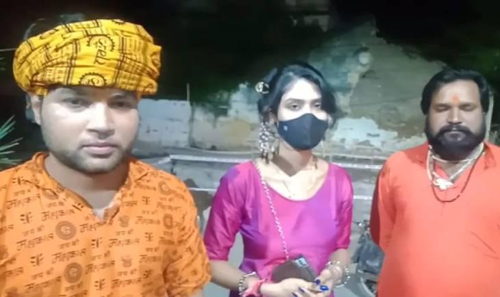 लंदन से आए एनआरआई श्रद्धालुओं से किया विवाद, महाकाल थाने में की शिकायत|उज्जैन,Ujjain - Dainik Bhaskar