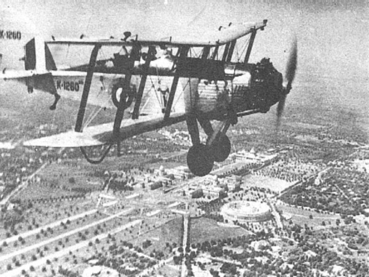 रॉयल इंडियन एयरफोर्स के शुरुआती समय में वेस्टलैंड वापिटी विमानों को शामिल किया गया था।