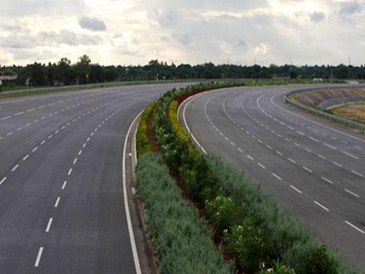 करीब 26 किलोमीटर लंबे फोरलेन के लिए 153 हेक्टेयर जमीन का अधिग्रहण होगा। - Dainik Bhaskar