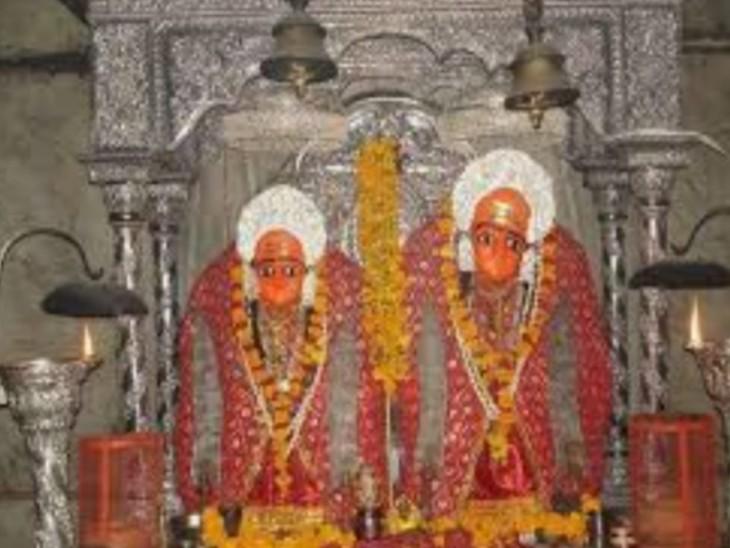घट स्थापना के साथ शारदीय नवरात्र शुरु, नवरात्र के प्रथम दिन मां शैलपुत्री की पूजा, माता का भवन में कैला देवी के जयकारों से गुंज उठा|करौली,Karauli - Dainik Bhaskar