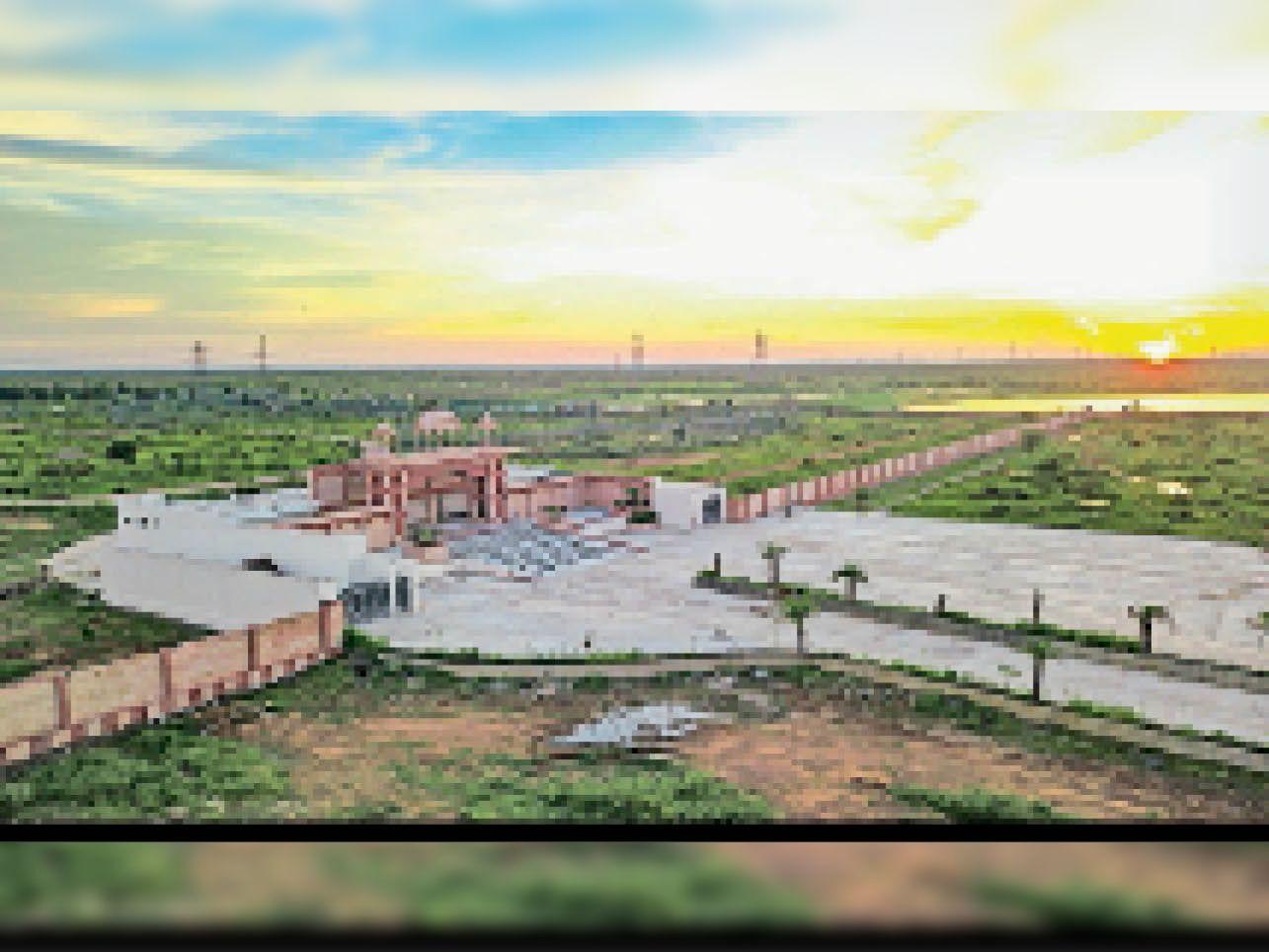 बायोलॉजिकल पार्क में जयपुर और उदयपुर से शिफ्ट किए जाने हैं शेर-शेरनी। - Dainik Bhaskar
