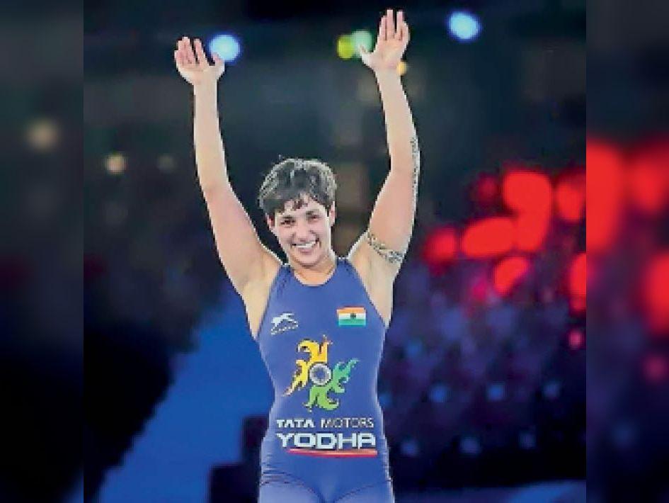 विजेता खिलाड़ी अंशु मलिक - Dainik Bhaskar