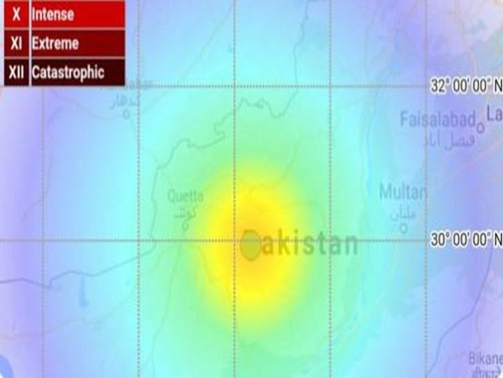 पाकिस्तान के बलूचिस्तान में 6 तीव्रता का भूकंप; 20 लोगों के मारे जाने की खबर, इनमें 1 महिला और 6 बच्चे शामिल|देश,National - Dainik Bhaskar