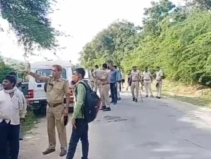 खेत पर काम करने से समय कुएं में पैर फिसलने से गिरी, पुलिस ने ग्रामीणों की मदद से रेस्क्यू ऑपरेशन चलाया, 7 घंटे बाद निकाला शव|सिरोही,Sirohi - Dainik Bhaskar