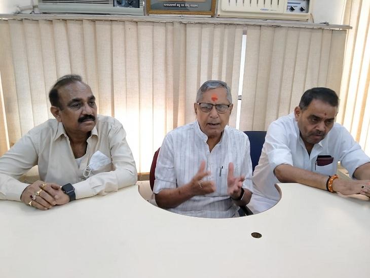 वाराणसी में मोहन प्रकाश बोले- करोड़ों रुपए की हेरोइन राष्ट्रीय सुरक्षा के लिए बड़ा खतरा; PM और गृह मंत्री ने क्यों चुप्पी साध रखी|वाराणसी,Varanasi - Dainik Bhaskar