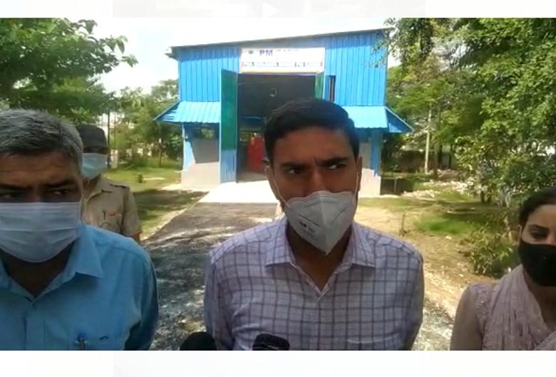 1000 लीटर प्रति मिनट उत्पादन होगा; कोरोना की तीसरी लहर के मद्देनजर सामान्य अस्पताल में 2 करोड़ की लागत से बनाया गया|करनाल,Karnal - Dainik Bhaskar