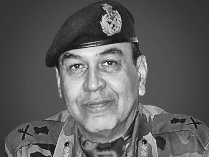 लेफ्टि. जनरल एसए हसनैन, कश्मीर में 15वीं कोर के पूर्व कमांडर - Dainik Bhaskar