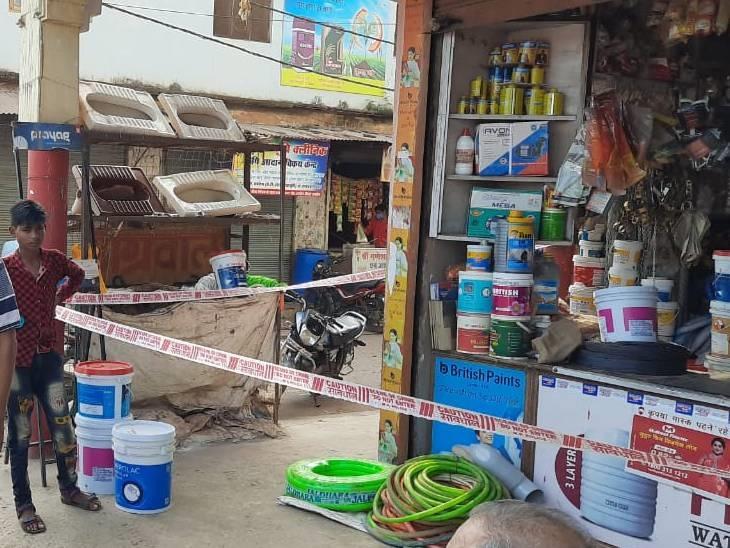 देर रात दो दुकानों को चोरों ने बनाया निशाना, सीसी टीवी में कैद हुए चोर|रायसेन,Raisen - Dainik Bhaskar