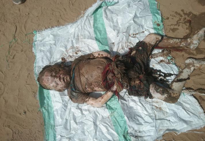 मौके पर पुलिस पहुंची तो देखा कि बालिका की कमर में बंधा था पत्थर|मुरैना,Morena - Dainik Bhaskar