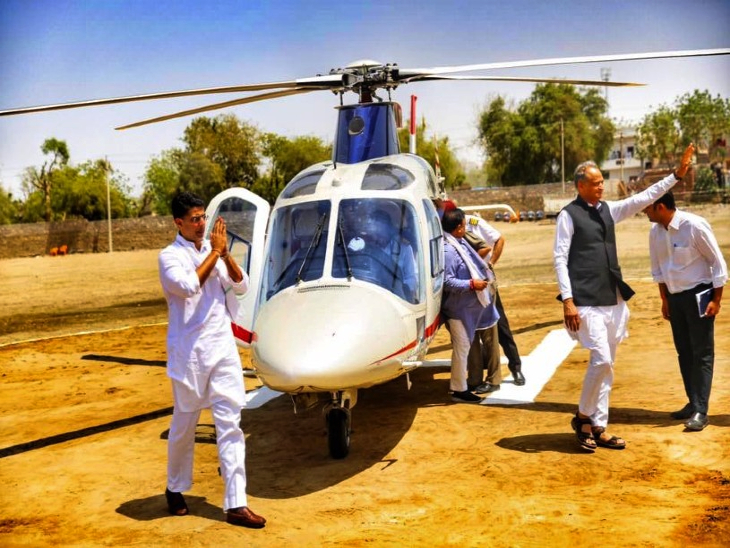 गहलोत-पायलट को साथ लाकर वोटबैंक साधने की कोशिश