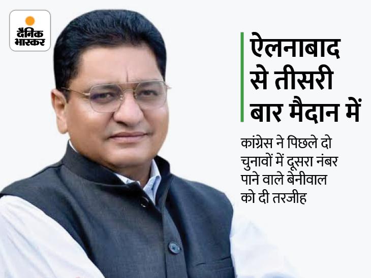 2 बार BJP के टिकट पर लड़ चुके इसी हलके से चुनाव; किसानों के समर्थन में इसी साल छोड़ी थी पार्टी, 24 दिन पहले जॉइन की थी कांग्रेस हिसार,Hisar - Dainik Bhaskar