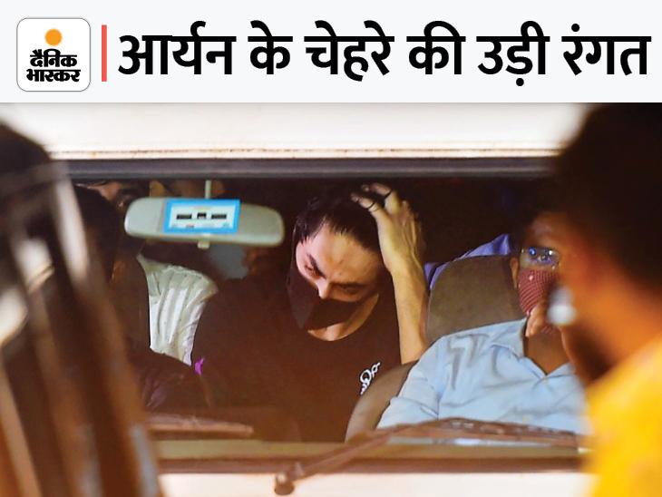 बिखरे बाल, माथे से टपकता रहा पसीना; सवा 3 घंटे एक जगह खड़े रहे, किसी से बात नहीं की|महाराष्ट्र,Maharashtra - Dainik Bhaskar
