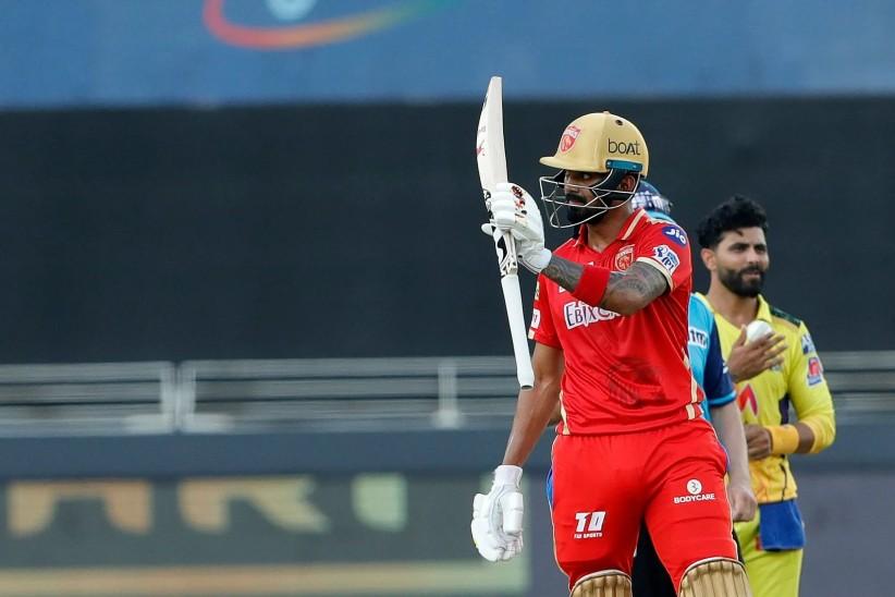 CSK को तीसरी सफलता, शाहरुख खान 8 रन पर आउट; केएल राहुल की फिफ्टी|IPL 2021,IPL 2021 - Dainik Bhaskar