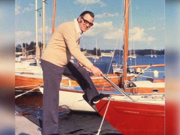 आर्ने लार्सन, जिन्हें पहला इंटरनल पेसमेकर लगाया गया था।