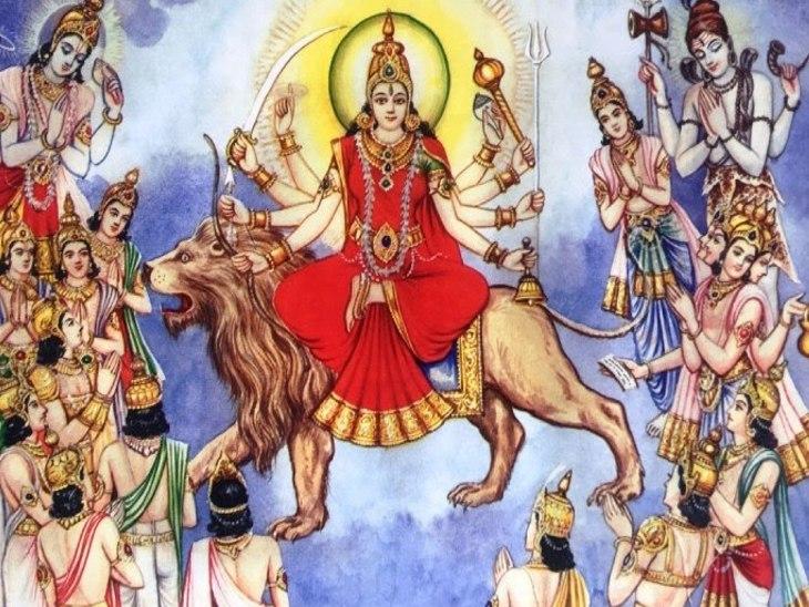 भगवान विष्णु और शिवजी ने भी की देवी स्तुति; त्रेतायुग में श्रीराम और द्वापर में पांडवों ने की थी शक्ति आराधना|धर्म,Dharm - Dainik Bhaskar