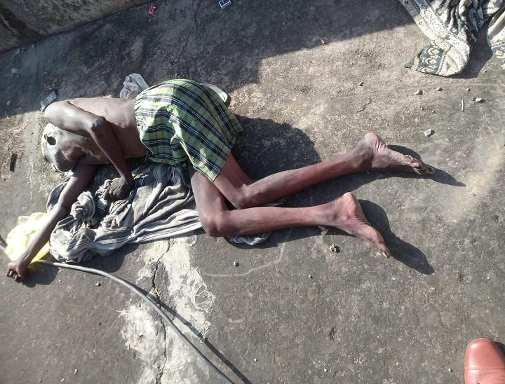 बांदीकुई के श्यालावास खुर्द कुटी में छत पर मिला शव। - Dainik Bhaskar