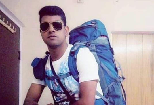 जवान जितेन्द्र शर्मा।