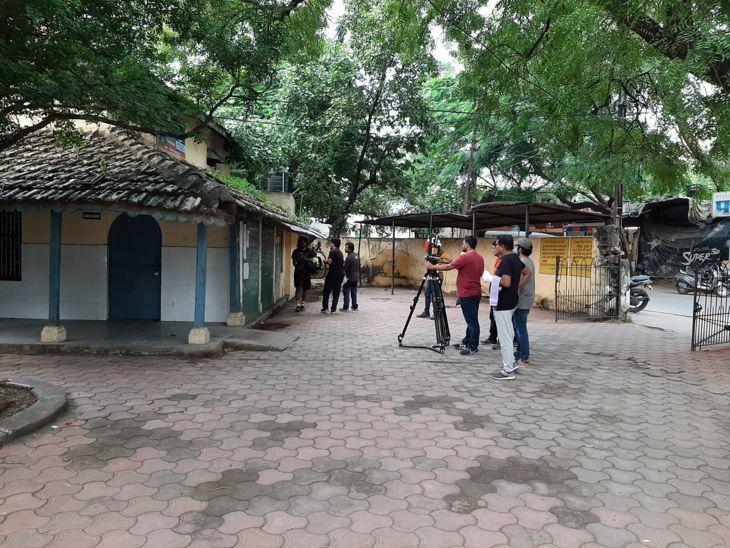 सलमान खान के पिता सलीम खान पर बन रही डाक्यूमेंट्री फिल्म, मुंबई से शूटिंग के लिए आई टीम|इंदौर,Indore - Dainik Bhaskar