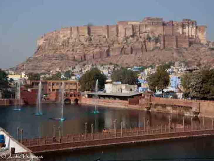 जल्द वापस आने का बोलकरसुबह घर से निकला, गुलाब सागर में शव पड़ा मिला जोधपुर,Jodhpur - Dainik Bhaskar