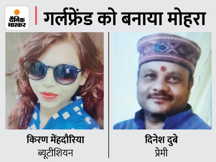लिव इन पार्टनर लड़कियों को देता था पार्लर का सर्टिफिकेट देने का झांसा, 1500-1500 रुपए भी वसूले; नैनीताल में उड़ाई मौज|भोपाल,Bhopal - Dainik Bhaskar