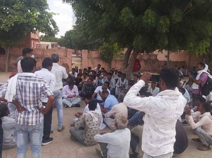 बच्चों से मिलने गया था हीरादेसर, तकरार के बाद हो गई मारपीट, ससुराल के निकट पड़ा मिला शव|जोधपुर,Jodhpur - Dainik Bhaskar