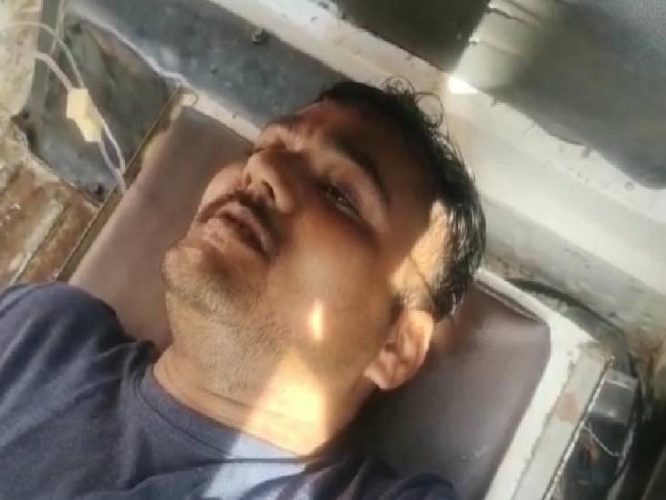जेल में कैंटीन चला रहे व्यक्ति ने किया हमला, सिपाही की हालत गंभीर|कासगंज,Kasganj - Dainik Bhaskar