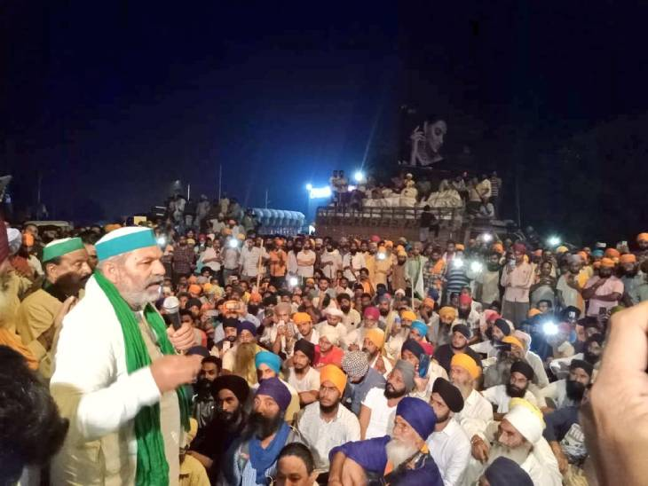 राकेश टिकैत को सरकार ने लखीमपुर जाने की इजाजत दी थी।
