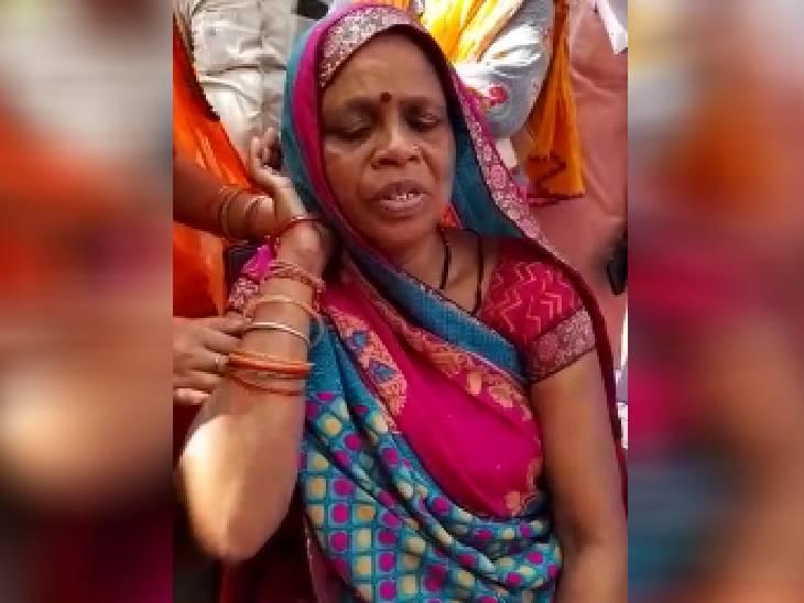 मृतक की पत्नी लक्ष्मी उईके।