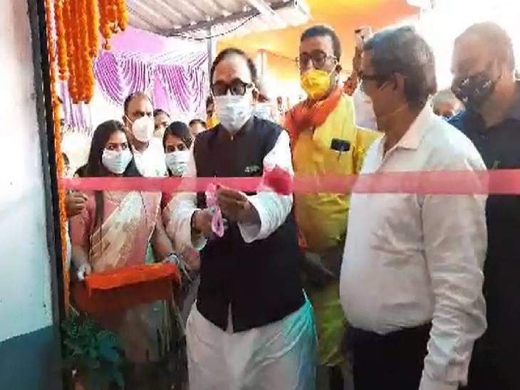 लखीमपुर खीरी घटना पर विपक्ष को दी नसीहत, सीएम योगी की जमकर की तारीफ|चंदौली,Chandauli - Dainik Bhaskar