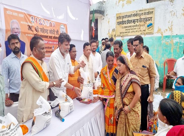 लोगों को बताया PM ने दिया है उन्हें चावल, छत्तीसगढ़ सरकार कर रही हेराफेरी, 11 और 12 अक्टूबर को विधानसभा स्तर पर करेंगे प्रदर्शन|जगदलपुर,Jagdalpur - Dainik Bhaskar