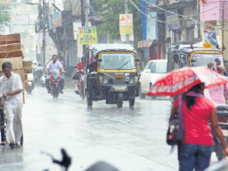 2016 व 2019 में अक्टूबर में नहीं हुई थी वर्षा, इस बार 19 मिमी पानी गिरा|रायपुर,Raipur - Dainik Bhaskar