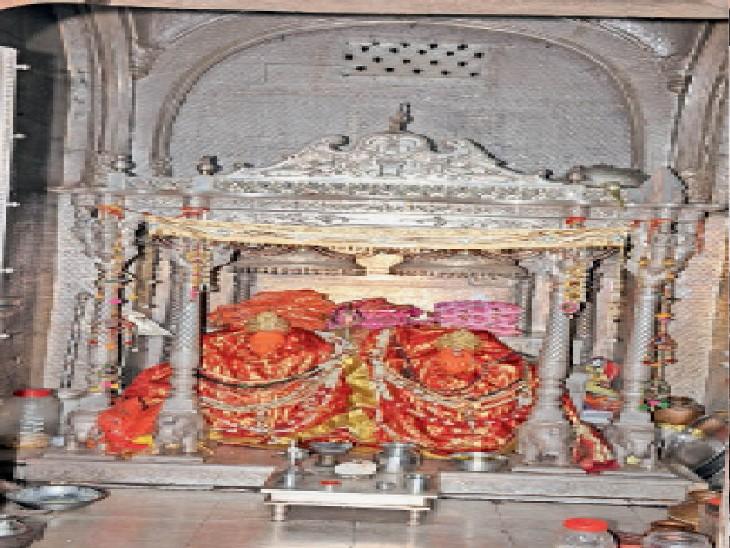 नवरात्र में शक्ति पीठ शाकंभरी व जमुवाय माता के दर्शन होंगे, लेकिन मेला नहीं भरेगा उदयपुरवाटी,Udaipurwati - Dainik Bhaskar