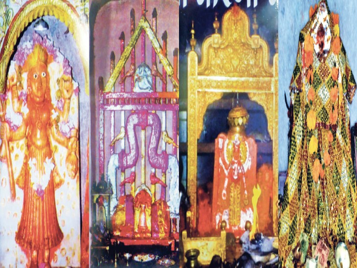 करणी माता के चार बड़े मंदिरों में उनके अलग-अलग स्वरूपों के दर्शन एक साथ पहली बार भास्कर में। - Dainik Bhaskar