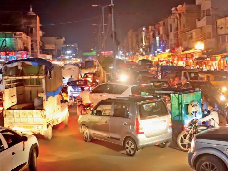 पाटनीपुरा चौराहा शाम 7 से 9 बजे । - Dainik Bhaskar