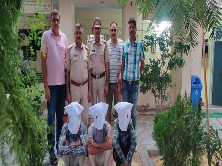 गोदामों के शटर तोड़कर चोरी करते थे अनाज,पिलानी थाना पुलिस ने 3 बदमाश किए गिरफ्तार, सूरजगढ़ कस्बे में की वारदात भी कबूली|झुंझुनूं,Jhunjhunu - Dainik Bhaskar