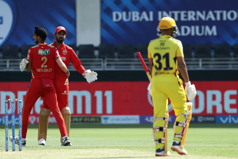 पंजाब को दूसरी सफलता, मोइन अली 0 पर आउट; अर्शदीप सिंह को मिले दोनों विकेट|IPL 2021,IPL 2021 - Dainik Bhaskar