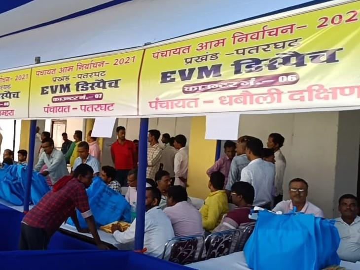 जिला प्रशासन ने मतदान को लेकर पूरी की तैयारी, चुनाव के दौरान गड़बडी फैलाने वालों पर होगी कड़ी कार्रवाई बिहार,Bihar - Dainik Bhaskar