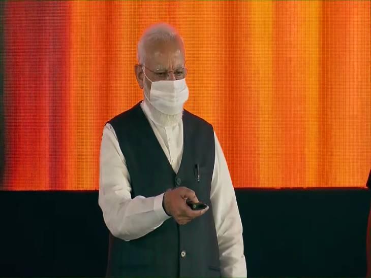 प्रधानमंत्री ने आज वाराणसी को दी 1000 LPM की क्षमता के 3 ऑक्सीजन प्लांट की सौगात, हरिद्वार से ऑनलाइन किया उद्घाटन|वाराणसी,Varanasi - Dainik Bhaskar