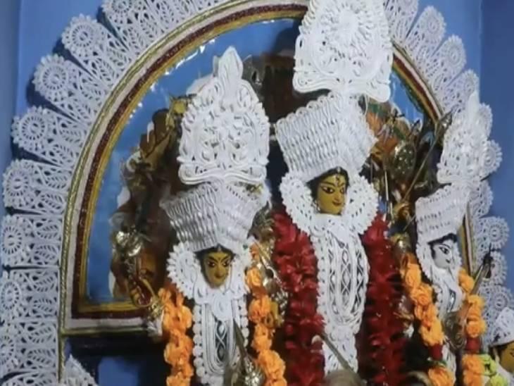 1767 में स्थापित मां दुर्गा की प्रतिमा।