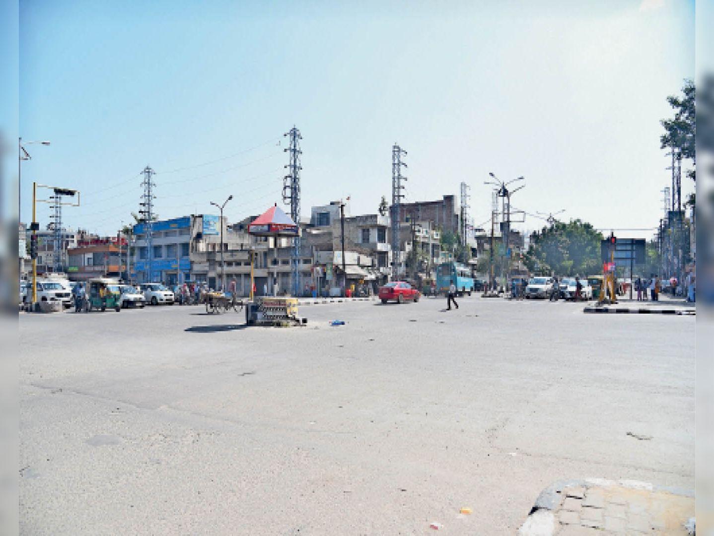 भारत नगर चौक - Dainik Bhaskar